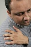 Dor do ombro Fotos de Stock