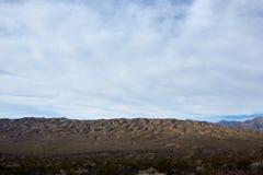 Dor landschap in badlands van Doodsvallei Royalty-vrije Stock Foto