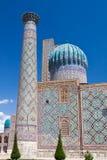 dor madrasah Samarkand sher Fotografia Stock
