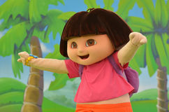 Dora the Explorer fotografie stock