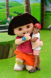 Dora the Explorer immagini stock libere da diritti