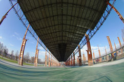 Dora post-industrial park, Turin, Italy Stock Image