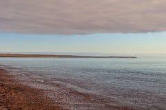 Doradillo plaża w Puerto Madryn, Chubut obraz royalty free