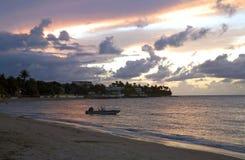 Dorado Beach Puerto Rico. At night Royalty Free Stock Images
