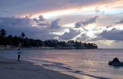 Dorado Beach Puerto Rico. At night Royalty Free Stock Image