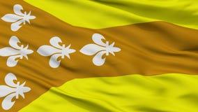 Dorado miasta flaga, Puerto Rico, zbliżenie widok Ilustracji