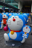 Doraemon Figure with Lie 800 Royalty Free Stock Photo
