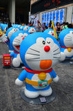 Doraemon Figure with Time Belt Royalty Free Stock Photography