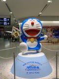 Doraemon model przy Nowym Chitose lotniskiem Zdjęcia Stock