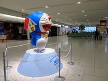 Doraemon model przy Nowym Chitose lotniskiem Obraz Royalty Free