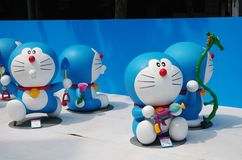 Doraemon in Shanghai show Royalty Free Stock Photos
