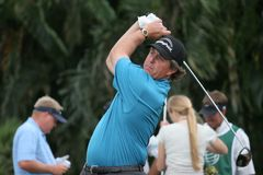 doral 2007 Phil Mickelson Fotografia Royalty Free