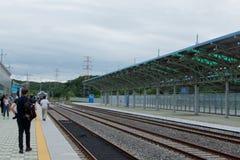 Doran火车站 库存图片