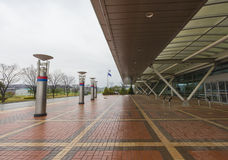 Dorasan Railway Station in DMZ, South Korea. Royalty Free Stock Photos