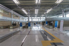 Dorasan Railway Station inside Stock Image