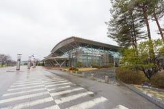Dorasanstation in DMZ, Zuid-Korea royalty-vrije stock afbeeldingen