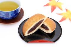 Dorayaki, японская кондитерская стоковое изображение