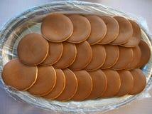 Dorayaki eller pannkakor arkivfoton