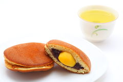 Dorayaki Japanese confectionery Stock Photo