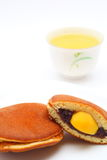 Dorayaki Japanese confectionery Stock Images