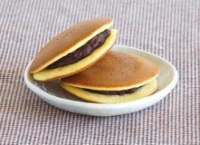 Dorayaki Japanese  Pancake Dessert Stock Photos