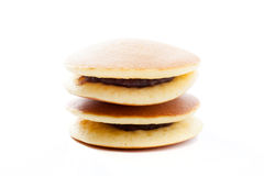 Dorayaki, Japanese red bean pancake Stock Image