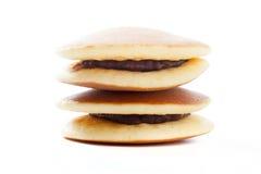 Dorayaki, Japanese red bean pancake Royalty Free Stock Photos