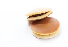 Dorayaki, Japanese red bean pancake Stock Photo