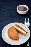 Dorayaki, Japanese Red Bean Pancakes Stock Image
