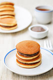 Dorayaki, Japanese red bean pancakes Royalty Free Stock Images