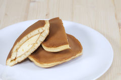 Dorayaki, Japanese Sweet  Pancakes Royalty Free Stock Photos