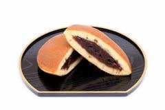 Dorayaki japansk konfekt Arkivfoton