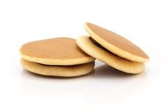 Dorayaki japanska söta Bean Pancakes royaltyfria foton