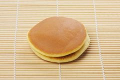 Dorayaki on mattress Royalty Free Stock Images