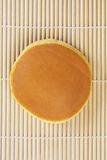 Dorayaki top view Stock Image
