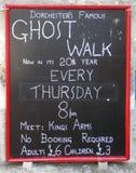 Dorchester ghost walks Stock Photo