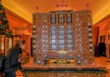Dorchester-Modell gemacht vom ginerbread Lizenzfreies Stockfoto