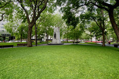 Dorchester Square. View of Dorchester Square in Montreal's downtown core Royalty Free Stock Images