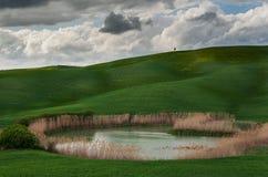 Val dâOrcia Toscanië Royalty-vrije Stock Afbeeldingen