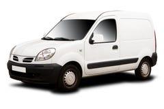doręczeniowy mały samochód dostawczy Zdjęcie Royalty Free