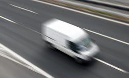 Doręczeniowy samochód dostawczy Obrazy Stock