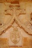 Dordoña, la abadía de Cadouin en Perigord Imagen de archivo