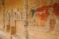 Dordoña, la abadía de Cadouin en Perigord Fotos de archivo libres de regalías