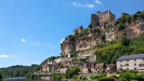 Dordogne. View of Dordogne castle in France royalty free stock photography