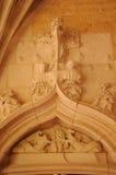 Dordogne, the Cadouin abbey in Perigord stock photo