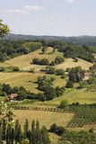 Dordogne countryside Stock Image