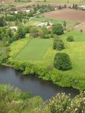 Dordogne flod och dal Royaltyfria Bilder