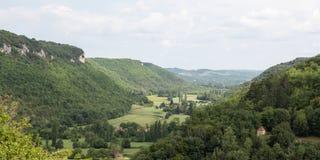 Dordogne Landscape Royalty Free Stock Photos