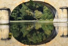 Dordogne Reflections Stock Images
