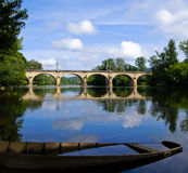 Dordogne River Royalty Free Stock Photos